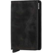 Secrid Slimwallet Vintage Black, zwarte cardprotector