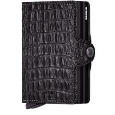 Secrid Twinwallet Nile Black, zwarte cardprotector
