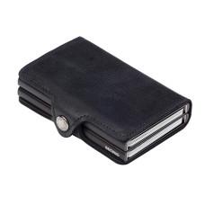Secrid Twinwallet Vintage Black, zwarte cardprotector
